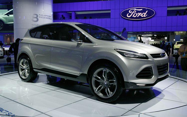 Фото прототипа Ford Vertrek