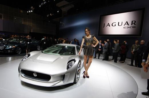 Фото Jaguar C-X75