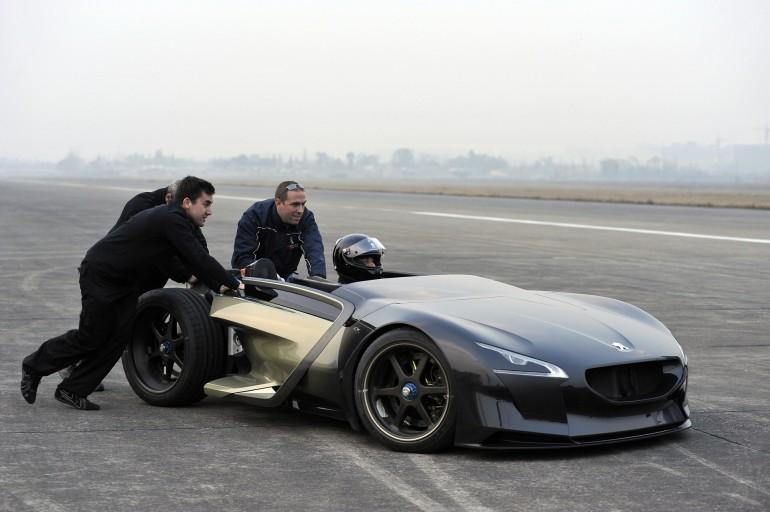 Фото Peugeot EX1 EV
