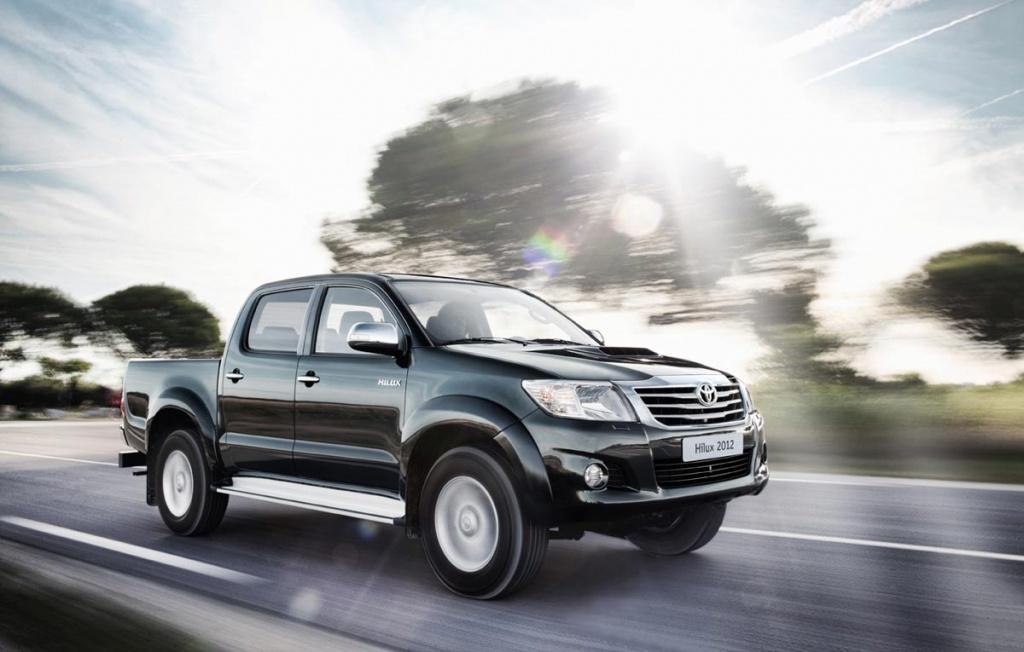 Фото нового Toyota Hilux 2012