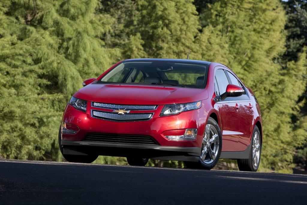 Фото электромобиля Chevrolet Volt