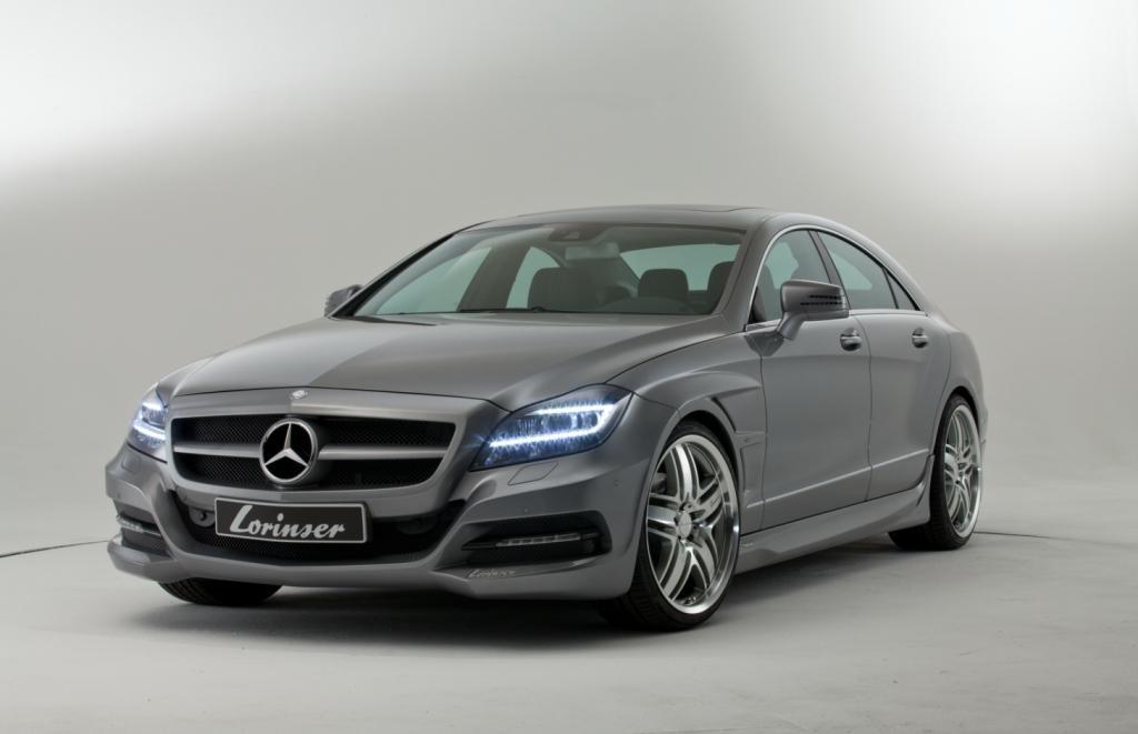 Фото тюнинг Mercedes CLS от Lorinser: вид спереди