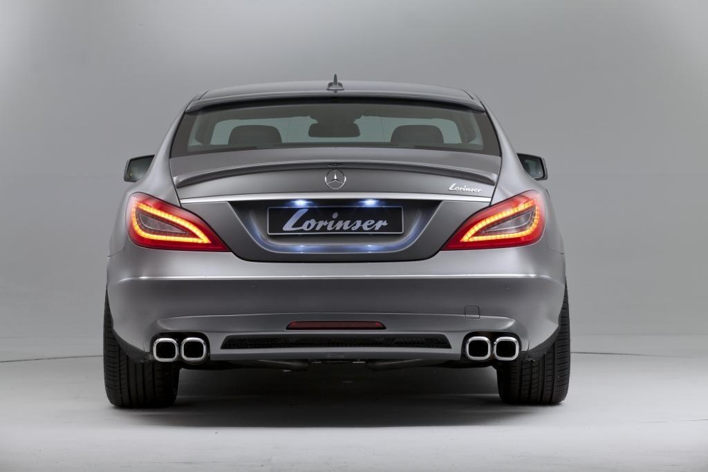 Фото тюнинг Mercedes CLS от Lorinser: вид сзади