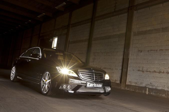 Фото тюнинга Mercedes S-класса от Carlsson