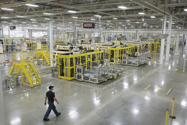 Фото завода Chrysler в Трентоне
