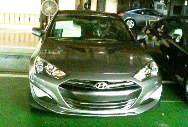 Hyundai Genesis Coupe фото