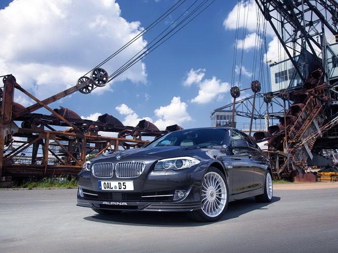 Фото тюнинга 2012 BMW Alpina D5 Biturbo