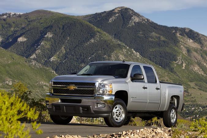 Фото нового Chevrolet Silverado