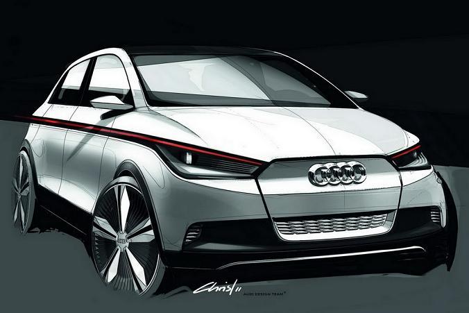 Фото концепта Audi A2