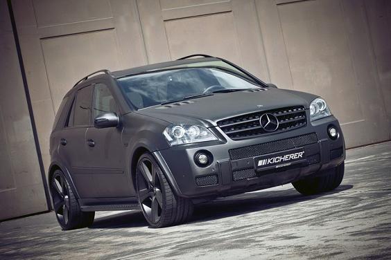 Фото тюнинга Mercedes ML63 AMG от Kicherer
