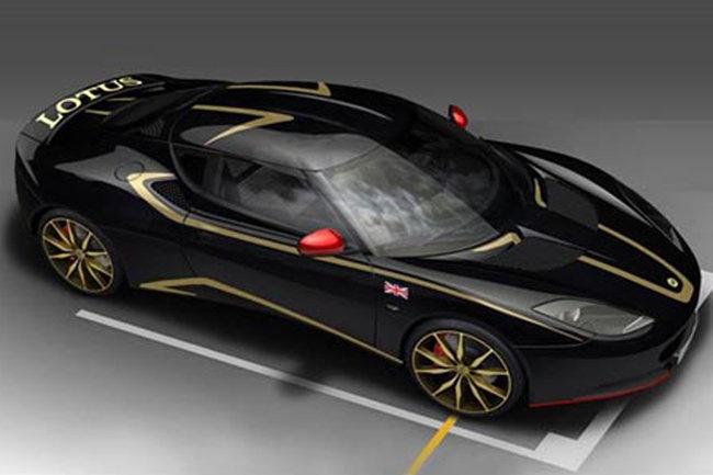 Фото Lotus Evora S GP Edition: вид сбоку сверху