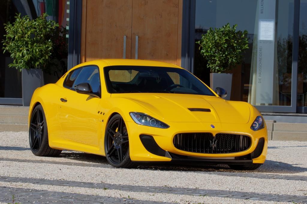 Фото Maserati GranTurismo MC Stradale от Novitec