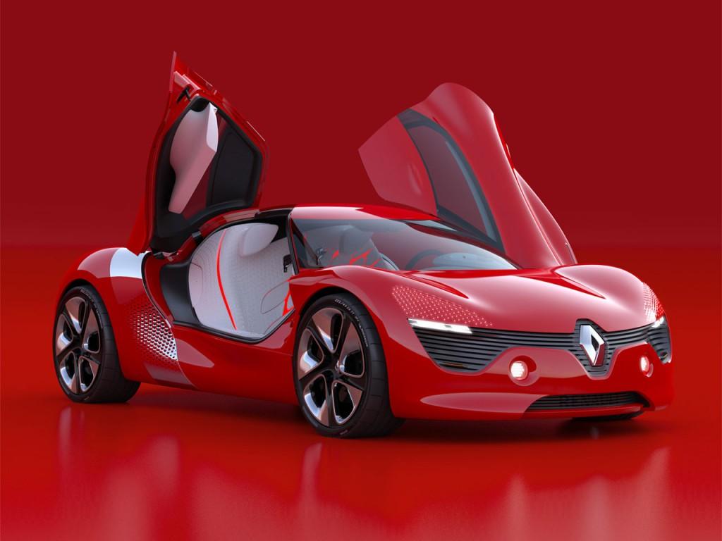 Фото электрокара Renault Dezir