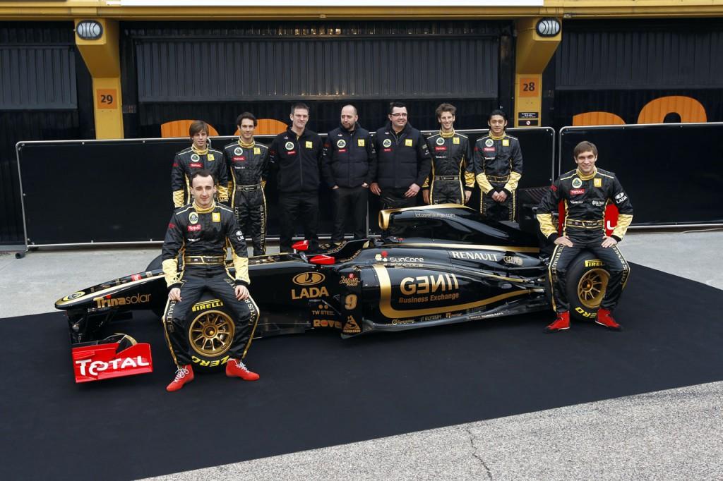 Фото команды Lotus Renault GP