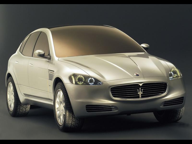 Концепт внедорожника Maserati Kubang фото