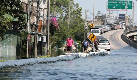 Фото наводнения в Таиланде