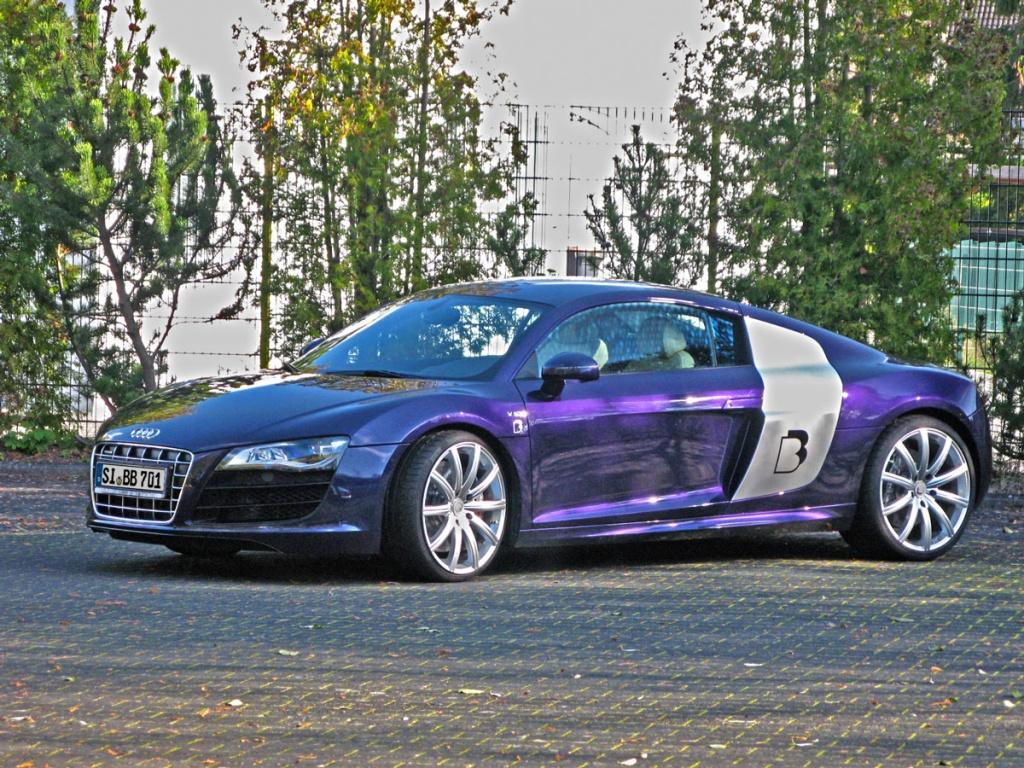 Фото тюнинга Audi R8 V10 от BB