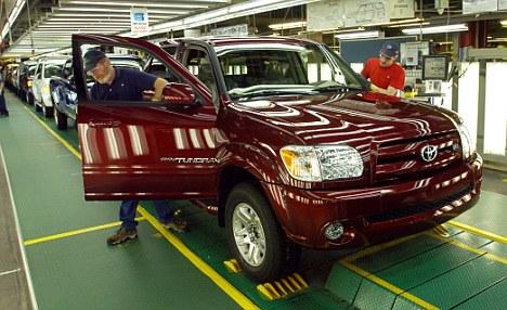 Toyota отзовёт более полумиллиона автомобилей