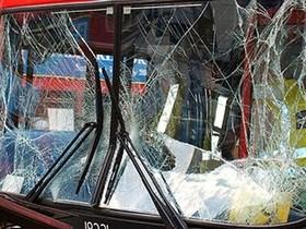 Фото ДТП с автобусом