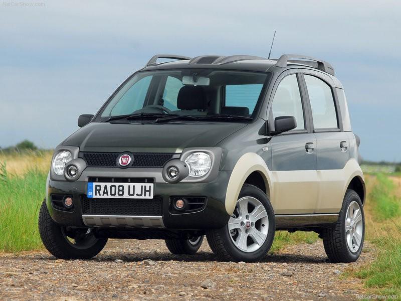 Фото заряженного Fiat Panda