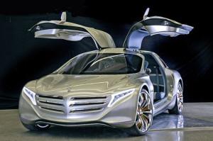 Merсedes F125: водородный автомобиль будущего