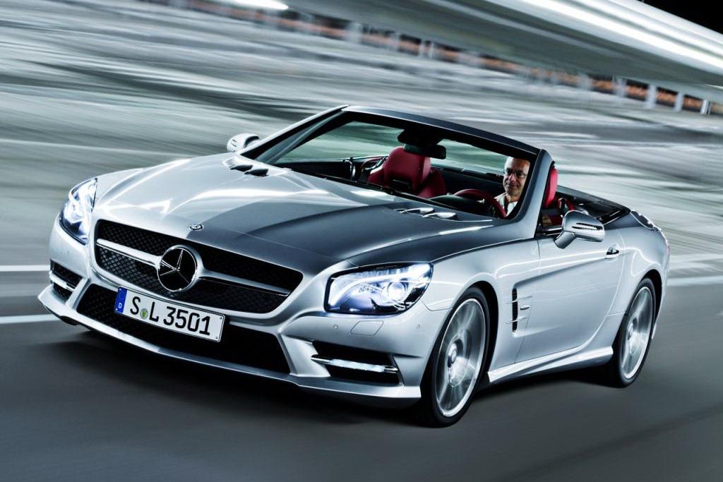 Фото нового Mercedes SL 2013