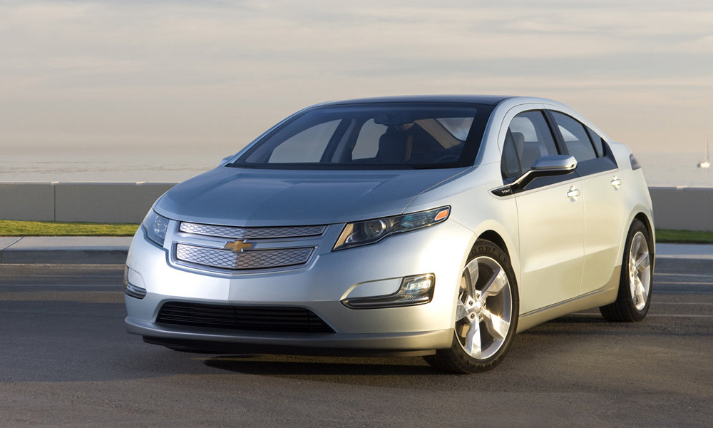 электромобили Chevrolet
