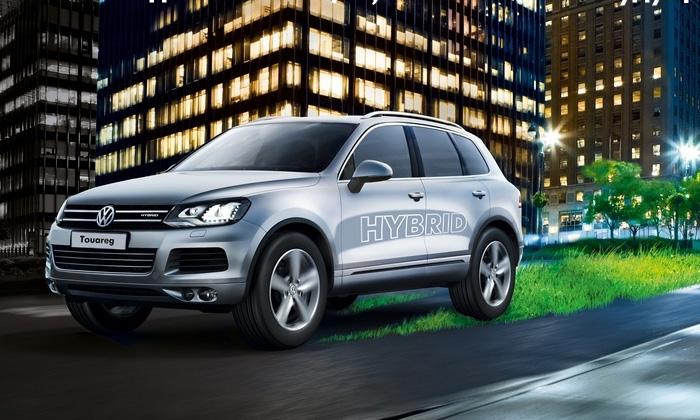 Volkswagen объявил о начале продаж гибридного Touareg в России