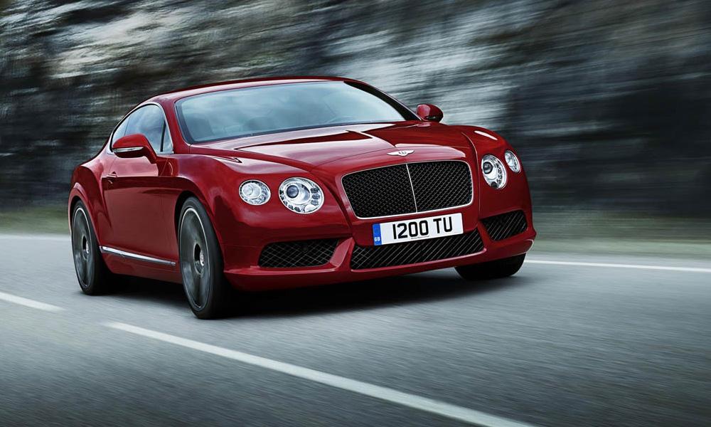 Bentley представила Continental с новым двигателем