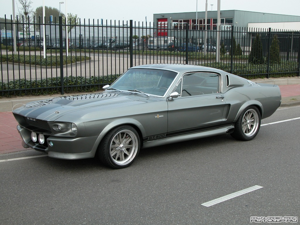 Фото Ford Mustang GT500 Shelby Eleanor