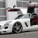 Фото тюнинга Mercedes SLS AMG от Senner