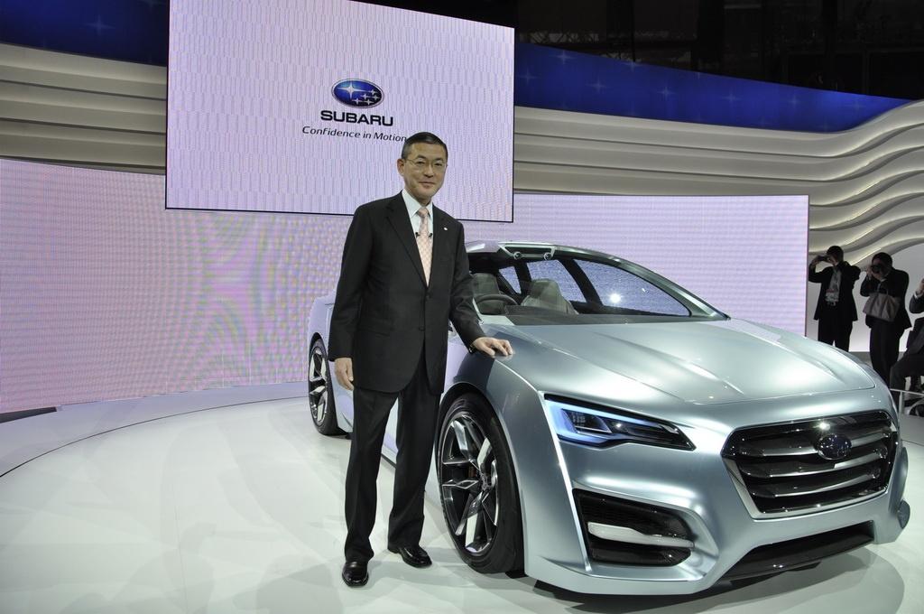Фото концепта Subaru Advanced Tourer