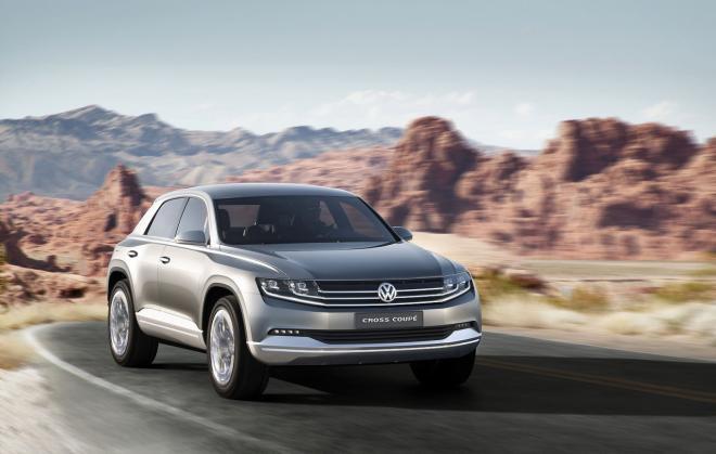 Фото  Volkswagen Cross Coupe