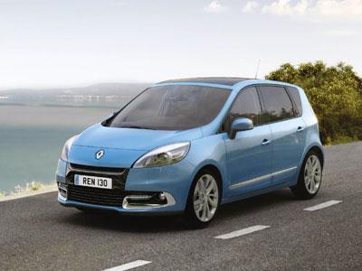 В России начнутся продажи обновленного Renault Scenic