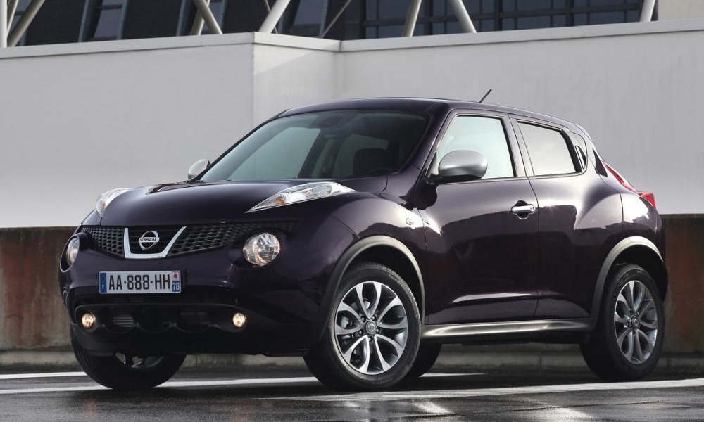 Nissan показал «белую» спецверсию Juke Shiro