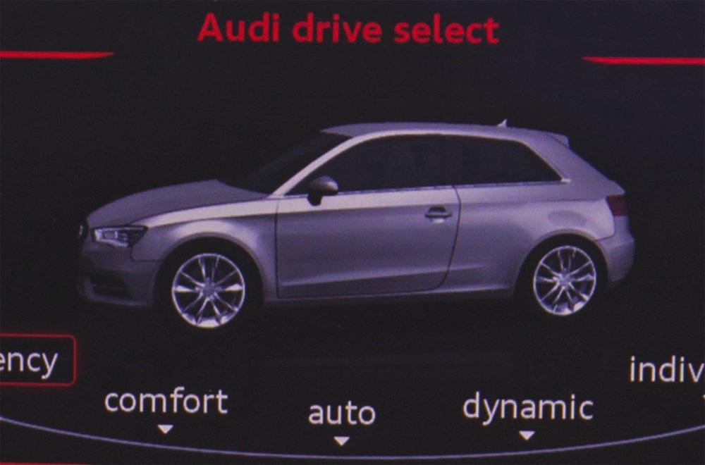 Audi опубликовала фото A3 нового поколения в кузове хэтчбек