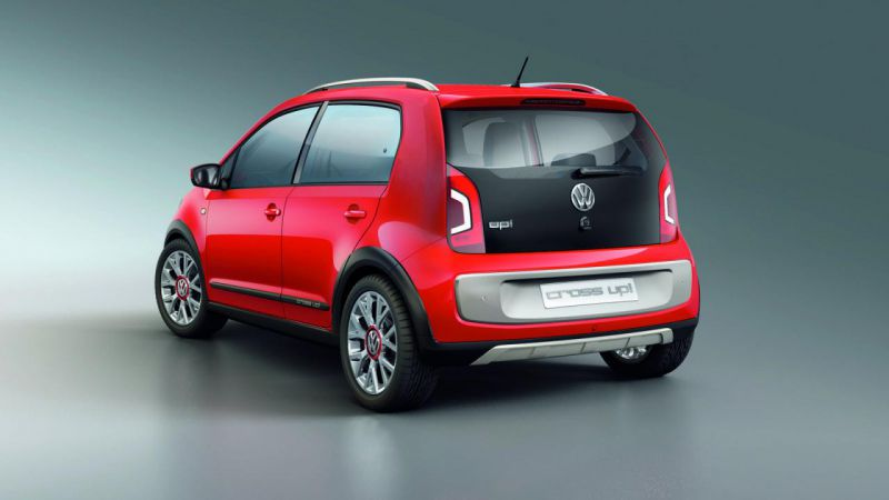 Volkswagen представил пятидверный Up!