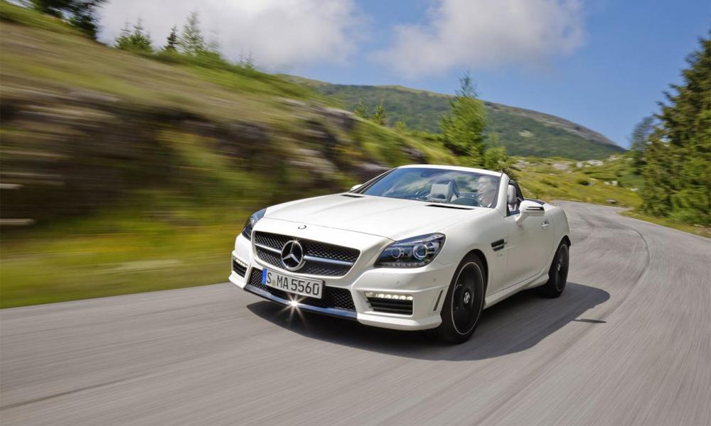 Названа цена самого мощного Mercedes-Benz SLK 55 AMG