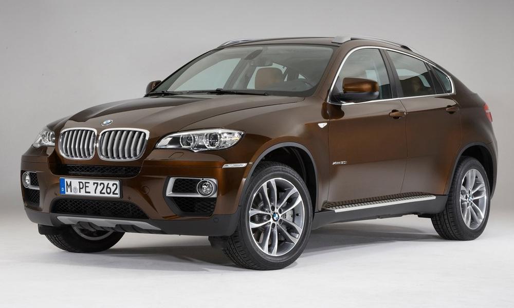 Представлен обновленный BMW X6