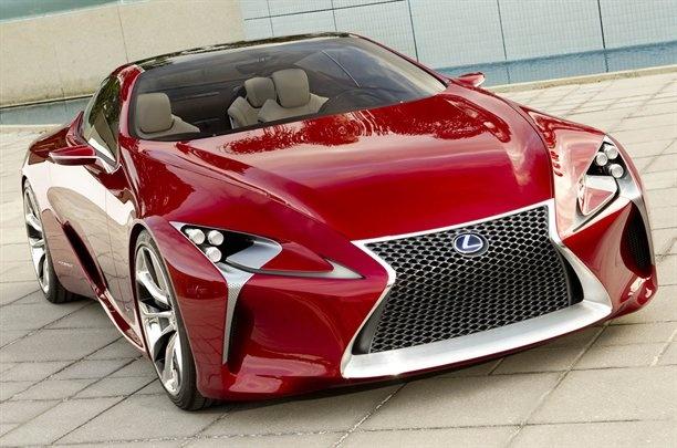 Появились фотографии концепта Lexus LF-LC