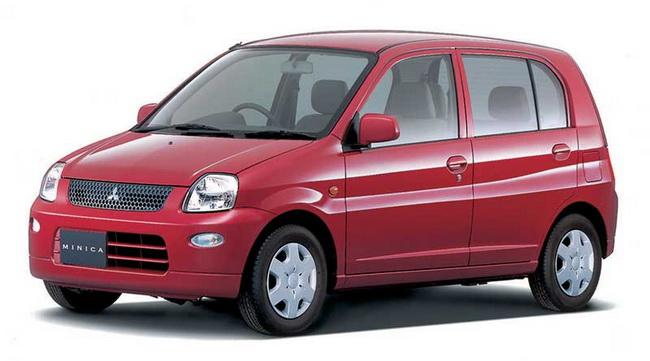 300 тысяч микролитражек Mitsubishi будет отозвано производителем