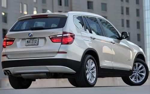 Ожидается появление новых версий автомобилей BMW X3 и X5