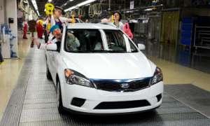 KIA выпустил миллионный автомобиль в Европе