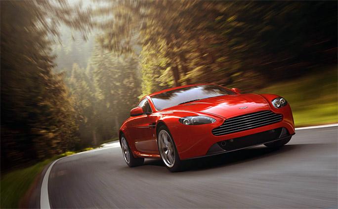 Aston Martin обновит V8 Vantage