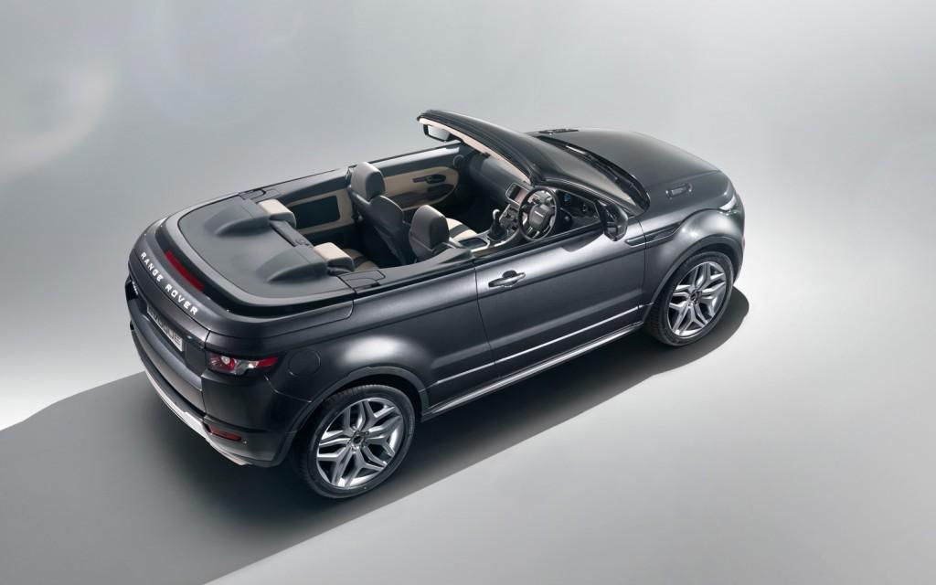 "Range Rover Evoque ""сорвут"" крышу"