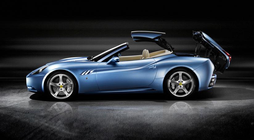Обновления в кабриолете Ferrari California