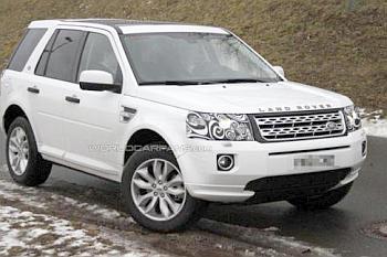 Шпионские фото обновленного Land Rover Freelander 2
