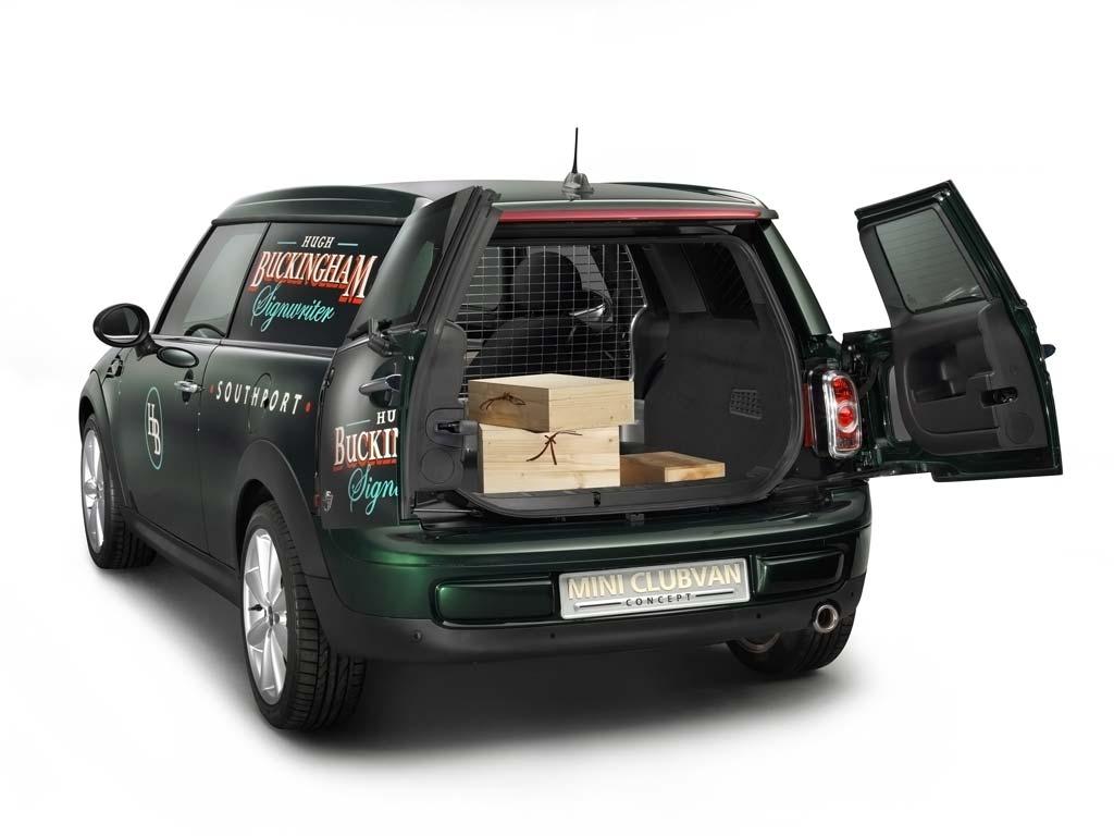 MINI представила коммерческий Clubvan