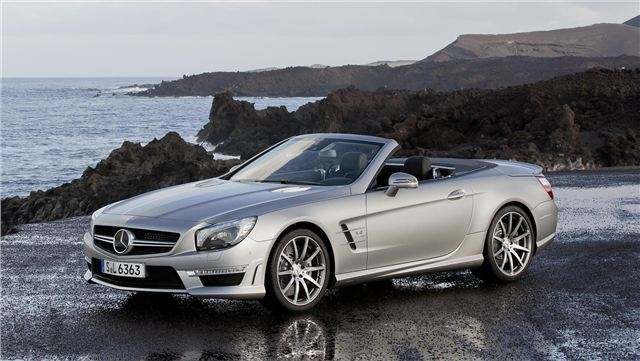 """Новый """"прокачанный"""" родстер Mercedes SL 63 AMG"""