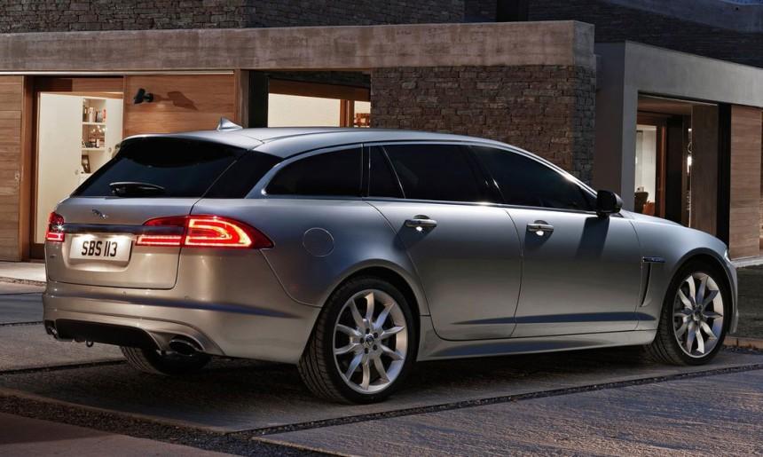 Jaguar официально представила XF Sportbrake